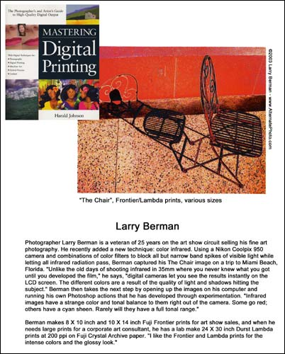 Larry Berman's Artist Statement