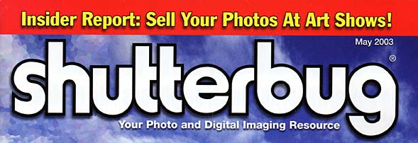 Selling Photography at Art Shows - Featured in Shutterbug Magazine